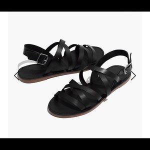 BRAND NEW Madewell Boardwalk Strappy Sandals